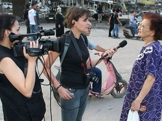 لیال نجیب روزنامه نگار کشته شده لبنانی